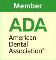 American Dental Association logo and link